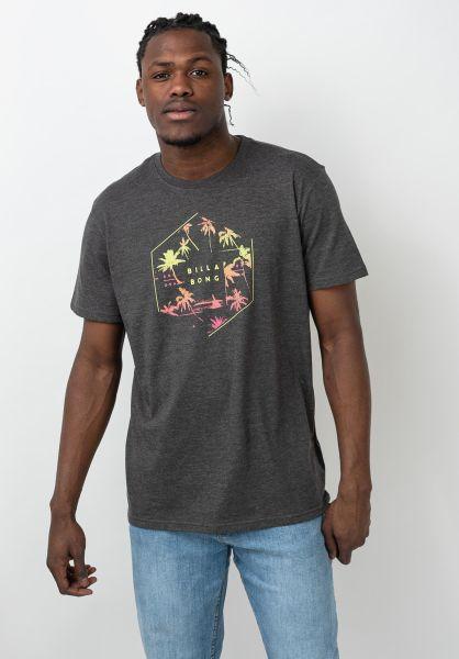 Billabong T-Shirts X-Cess blackheather vorderansicht 0321600