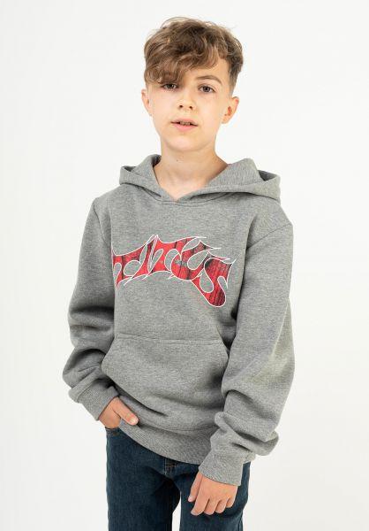 TITUS Hoodies Schranz Kids greymottled vorderansicht 0442387