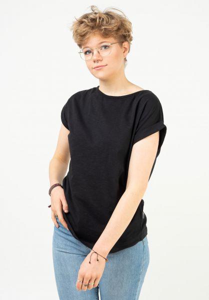 Wemoto T-Shirts Holly black vorderansicht 0321387