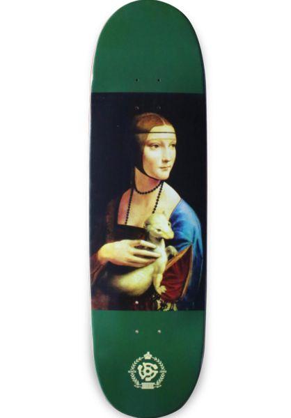 Stereo Skateboard Decks Paulo Diaz Ferret Shape green vorderansicht 0262129