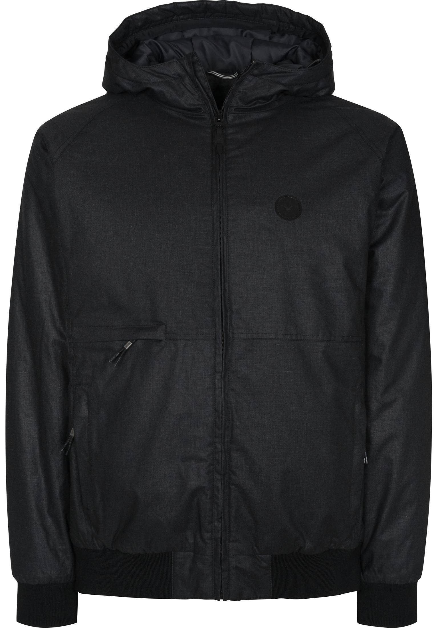 Polarzipper Hemp Cleptomanicx Winter Jackets in black for