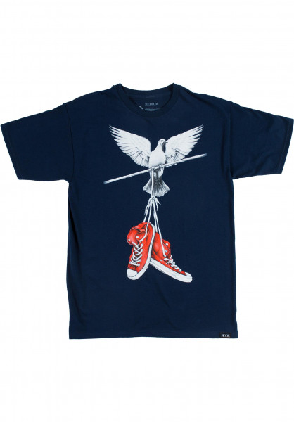 On A Wire ROOK T-Shirts in navy for Men | Titus