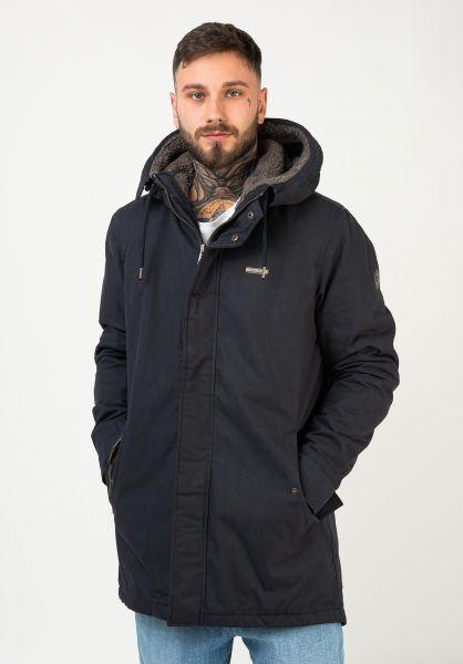 Ragwear Winterjacken Mr Smith navy 320 vorderansicht 0250113