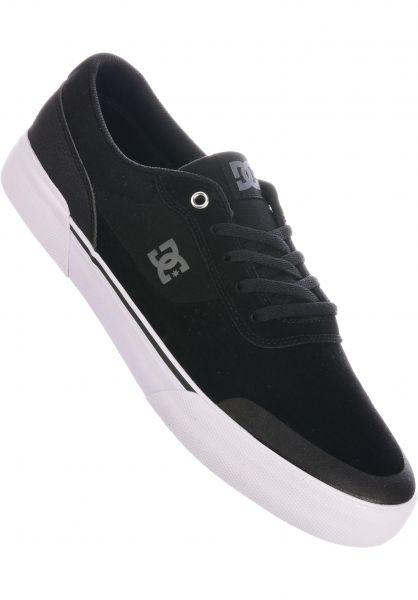 DC Shoes Alle Schuhe Switch Plus black-white-black vorderansicht 0604682