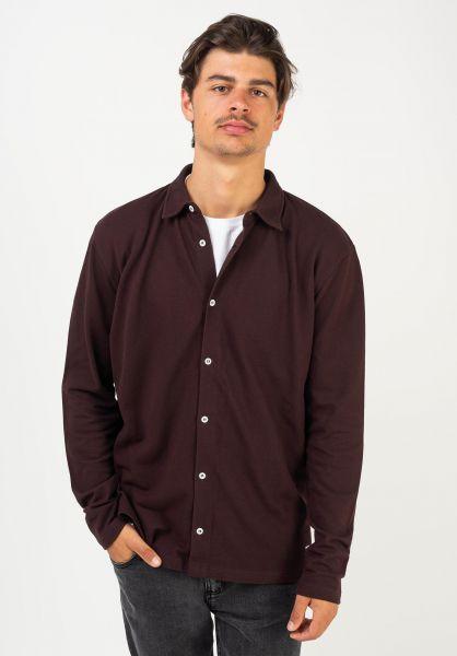 Forvert Polo-Shirts Vito darkburgundy vorderansicht 0138422