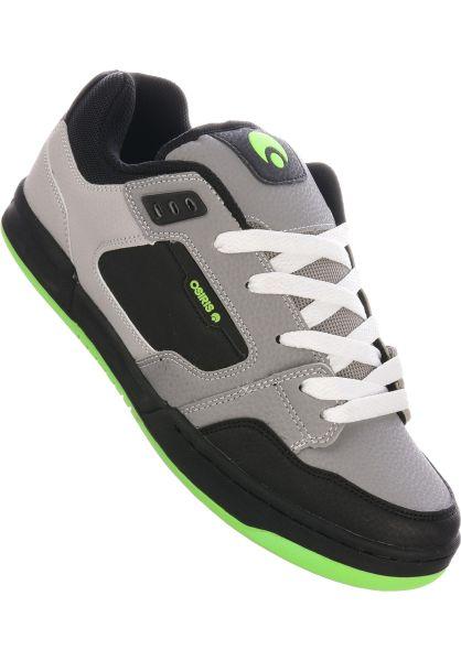 Osiris Alle Schuhe Trace grey-lightgrey-lime vorderansicht 0604779