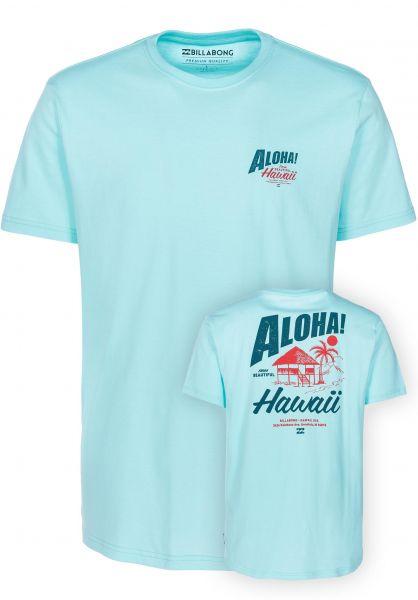 Billabong T-Shirts Aloha spearmint vorderansicht 0397650