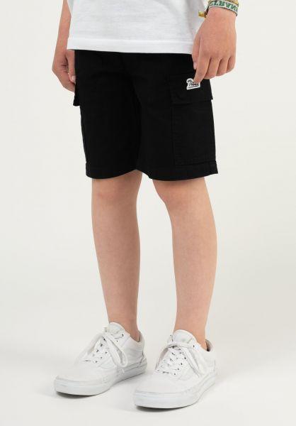 TITUS Shorts Lono Kids black vorderansicht 0551926