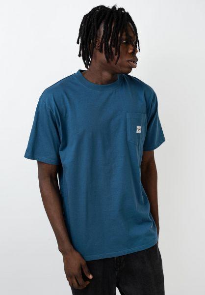 TITUS T-Shirts Script Pocket stellar vorderansicht 0399514