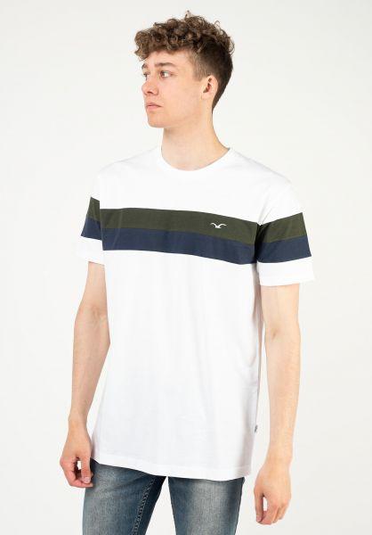 Cleptomanicx T-Shirts Doust white vorderansicht 0322979