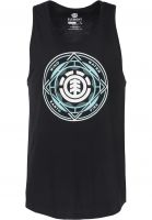 Element Tank-Tops Circuit flintblack Vorderansicht