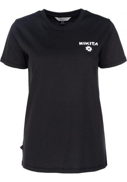 Nikita T-Shirts EP black Vorderansicht
