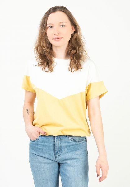 Mazine T-Shirts Mina offwhite-vanilla vorderansicht 0324032