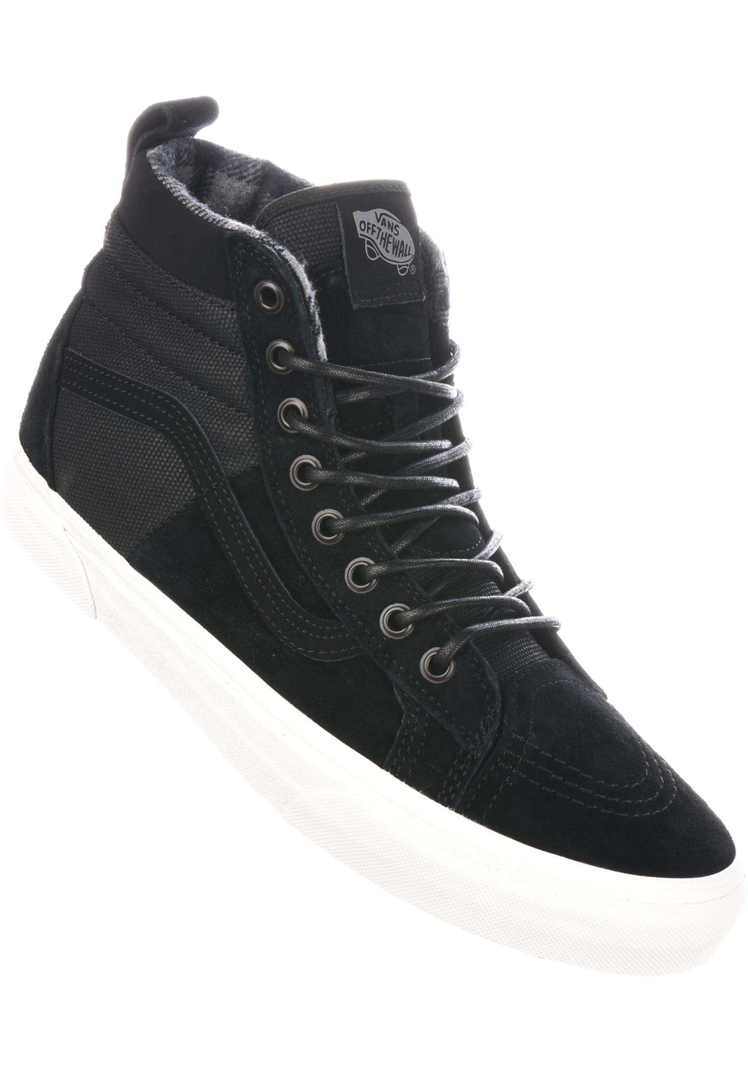 214f09a7268e52 Sk8 Hi MTE DX Vans All Shoes in black-flannel for Men