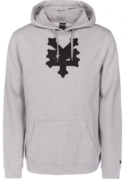 Zoo York Hoodies Cracker heathergrey vorderansicht 0445114