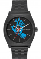 Nixon Uhren The Time Teller X Santa Cruz black-screaming hand Vorderansicht