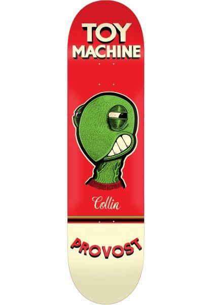 Toy-Machine Skateboard Decks Pen ´N´ Ink Series Provost vorderansicht 0264800