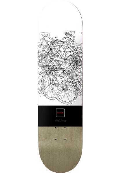 Chocolate Skateboard Decks Perez Modernica white-black vorderansicht 0262948