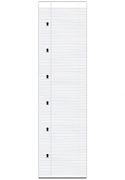 Grizzly Griptape Lined Paper white vorderansicht 0141984
