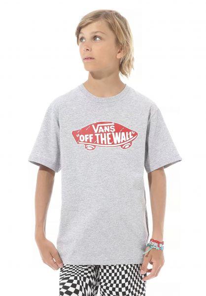 Vans T-Shirts OTW Logo Fill athleticheather-red vorderansicht 0321733