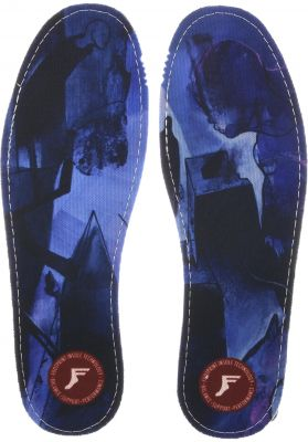 Footprint Insoles Kingfoam Flat Barras City