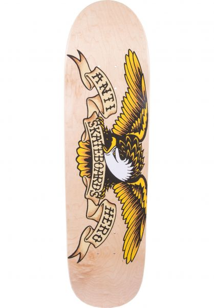 Anti-Hero Skateboard Decks Shaped Eagle Au Natural natural Vorderansicht