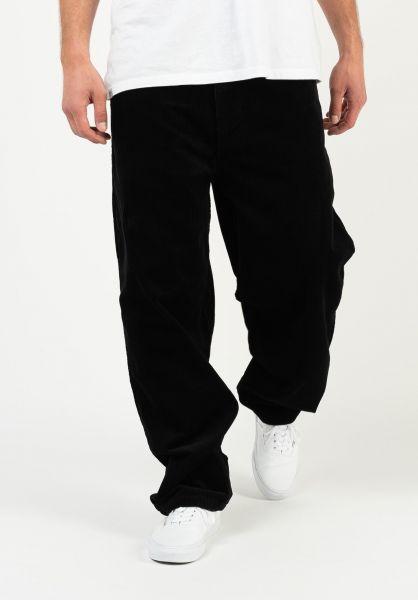 Reell Jeans Baggy blackrigid-cord vorderansicht 0054721