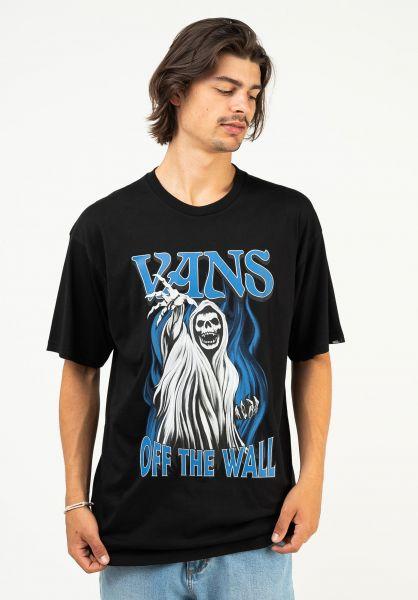 Vans T-Shirts OTW Reaper black vorderansicht 0324246