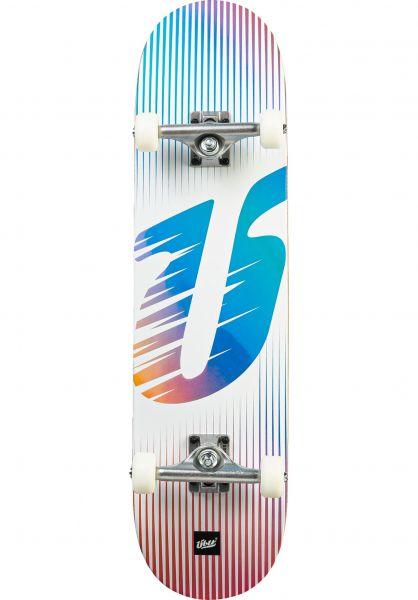 ÜBER Skateboard komplett Big Ü lightblue vorderansicht 0162860