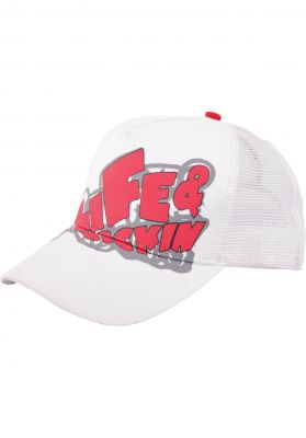 alife and kickin Trucker-Cap-Logo
