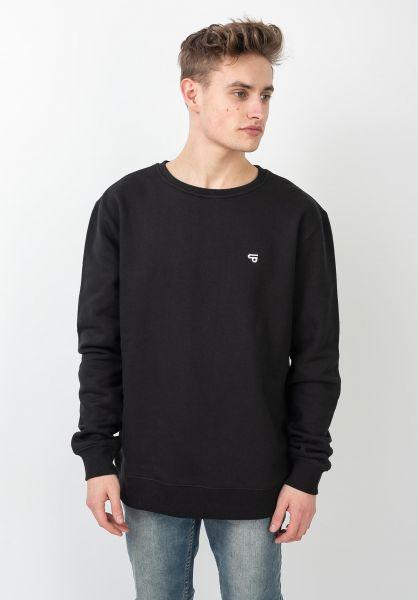 TITUS Sweatshirts und Pullover Uni black vorderansicht 0420880