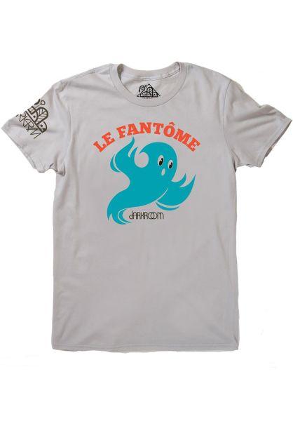 Darkroom T-Shirts Le Fantome silver vorderansicht 0399866