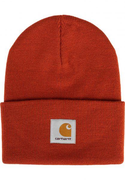 Carhartt WIP Mützen Acrylic Watch Hat copperton vorderansicht 0570844