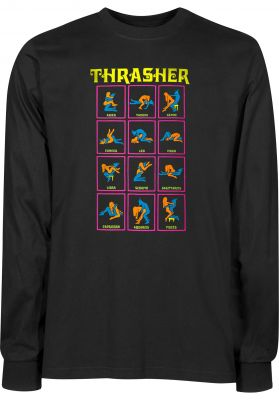 Thrasher Black Light L/S