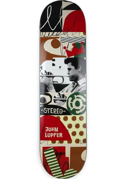 Stereo Skateboard Decks JAZZ LUPFER multicolored Vorderansicht 0261109