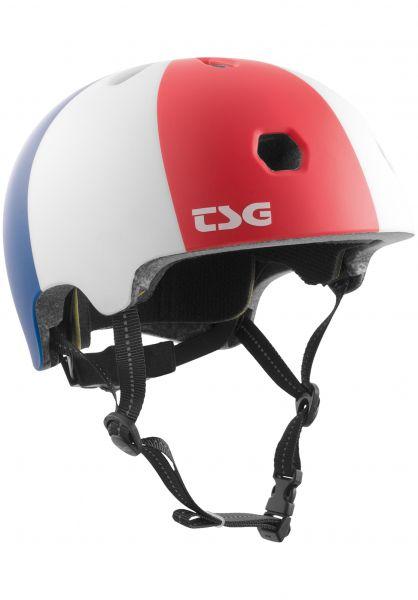 TSG Helme Meta Graphic Design globetrotter vorderansicht 0750124