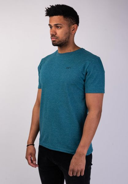 Mazine T-Shirts Burwood deepsea vorderansicht 0399878