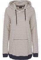 forvert-hoodies-koil-beige-navy-vorderansicht