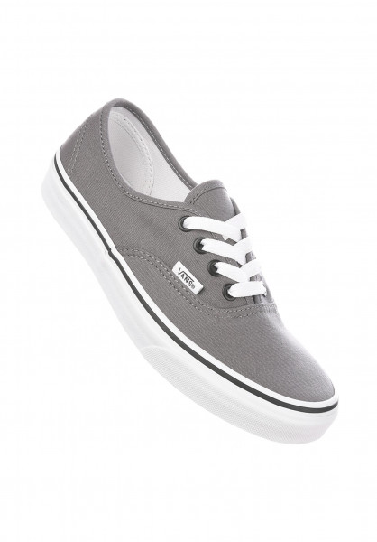 Vans Alle Schuhe Authentic Classic pewter-black Vorderansicht