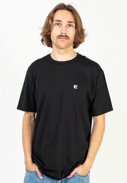 etnies T-Shirts Team Embroidary black vorderansicht 0323518