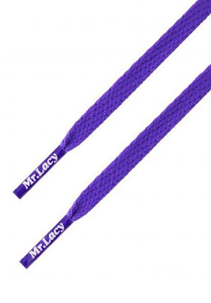 Mr. Lacy Schnürsenkel Skinnies Purple vorderansicht 0640006
