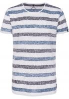 WLD-T-Shirts-Sand-Searchers-II-navy-stripes-Vorderansicht