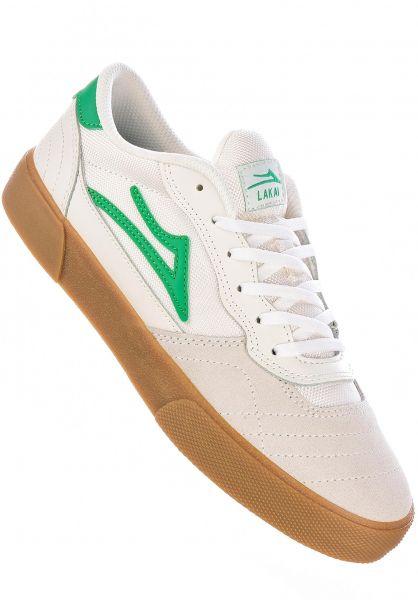 Lakai Alle Schuhe Cambridge white-grass vorderansicht 0604604