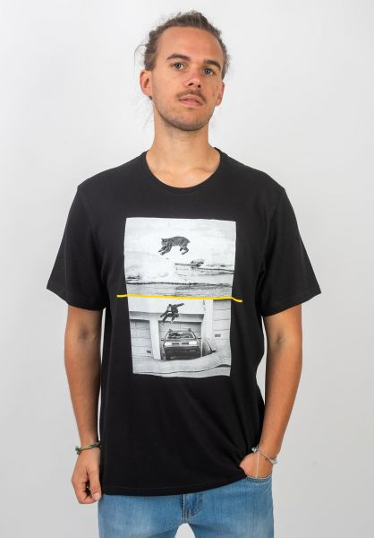 Element T-Shirts x NG Bobcat Westgate flintblack vorderansicht 0320718