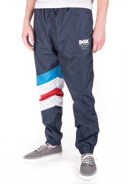 DGK Jogginghosen Blaze Swishy Pant navy vorderansicht 0680210
