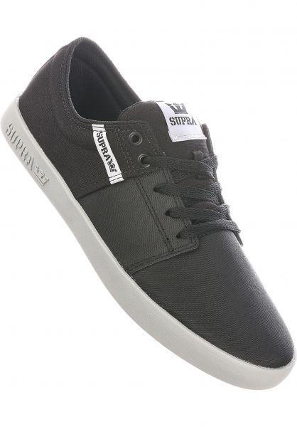 Supra Alle Schuhe Stacks II black-tuf-lightgrey vorderansicht 0603560