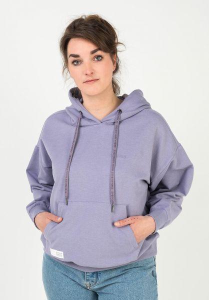 Mazine Hoodies Willow violet-melange vorderansicht 0446404