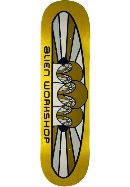 Alien-Workshop Skateboard Decks Owlien natural vorderansicht 0262991