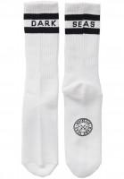 Dark Seas Socken Workup white Vorderansicht