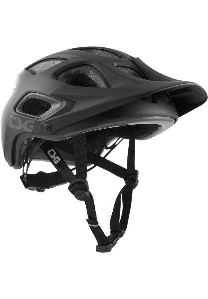TSG Helme Seek Solid Color satin-black vorderansicht 0750116